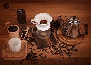 Torra média do café
